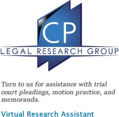 Counsel Press Legal Research Group